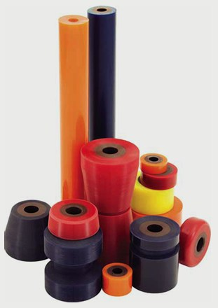 Versa Rolls Dual Durometer Urethane Rolls Acrotech Inc