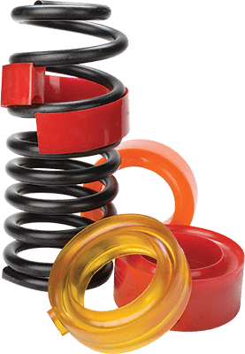 Spring Rubbers, Rubber Coil Spring Spacers, Spring Rubber, Coil Spring Image