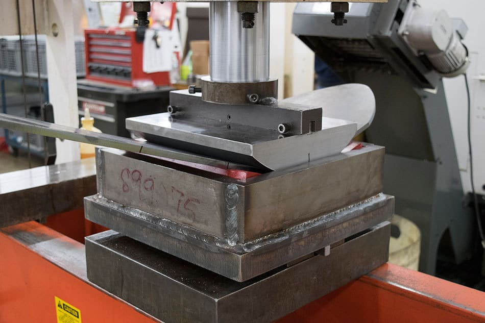 Large Radius Metal Forming With Urethane Acrotech Inc