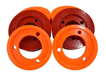 wood working urethane drive wheels